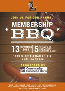 Annual Membership BBQ